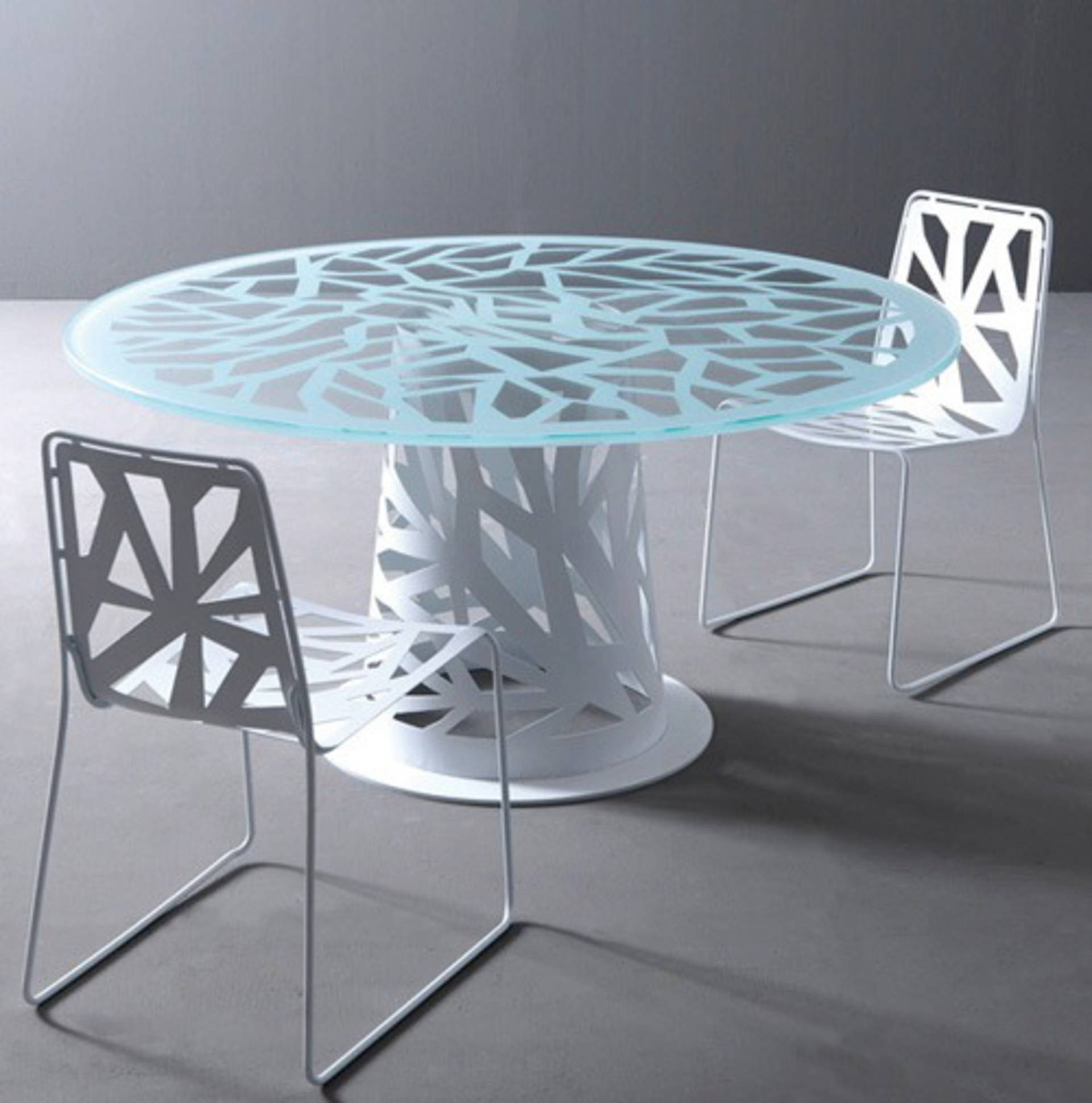 Lovely Contemporary Perforated Furniture U0026ndash; Domino By ...
