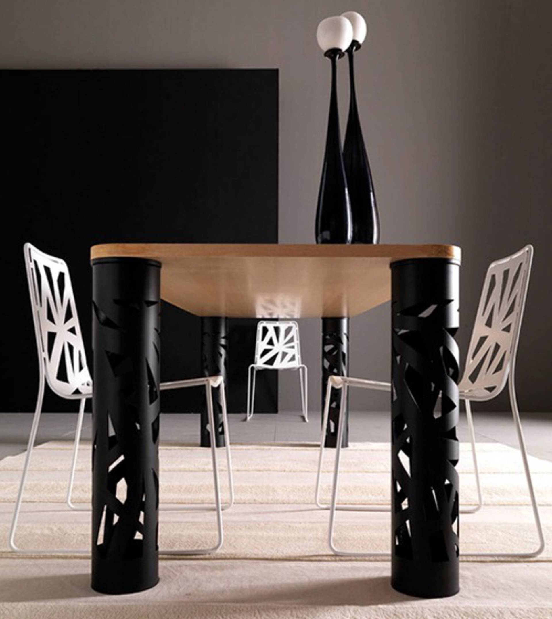 ... Contemporary Perforated Furniture U0026ndash; Domino By Esedra