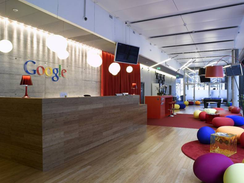 Very creative and crazy Google Office in Zurich