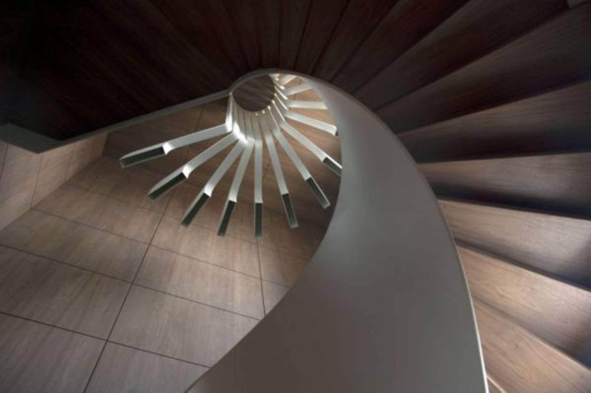 futuristic lighting. futuristic lighting for a staircase by pslab