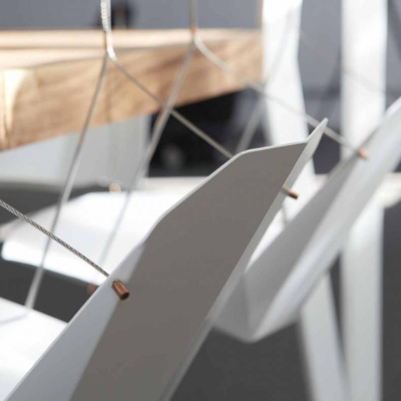 Swing Table with Swinging Chairs by Duffy London