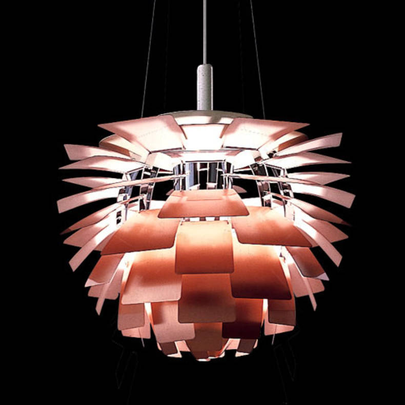 Artichoke Lamp is Always in Fashion