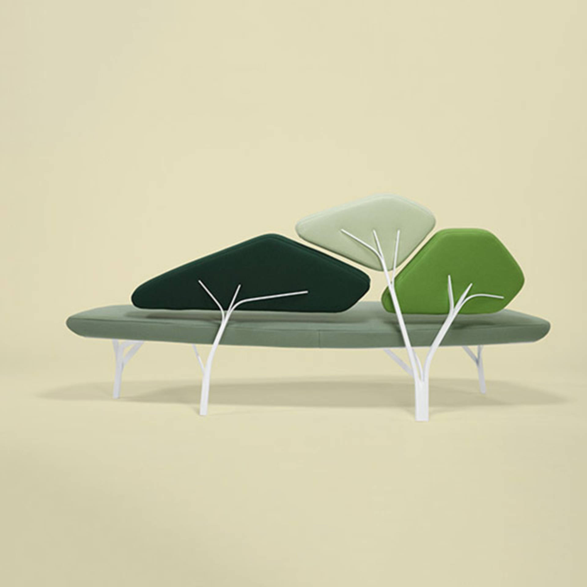 Borghese Sofa Shaped Stone Pine Tree by Noé Duchaufour Lawrance ...