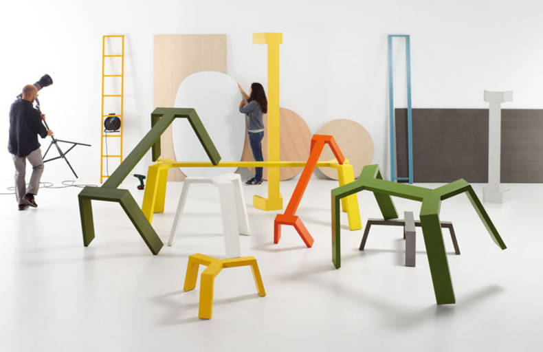 Furniture of Bright Colors by Lagranja Design