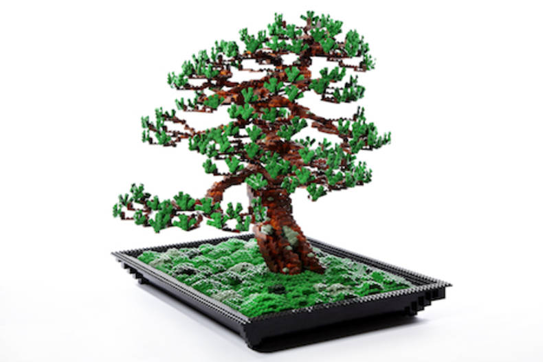Beautiful Bonsai Trees of Legos by Azuma Makoto