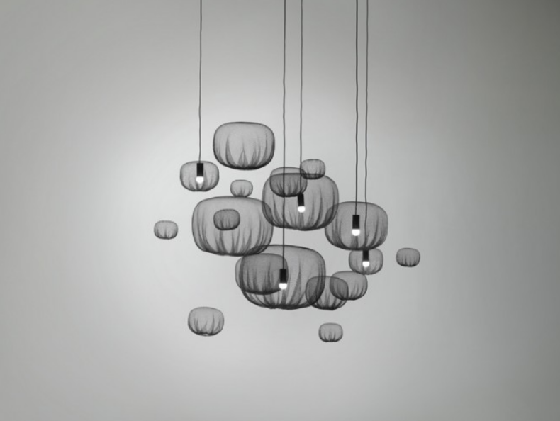 """Farming-Net Collection"" of Lamps, Vases and Tables by Nendo"