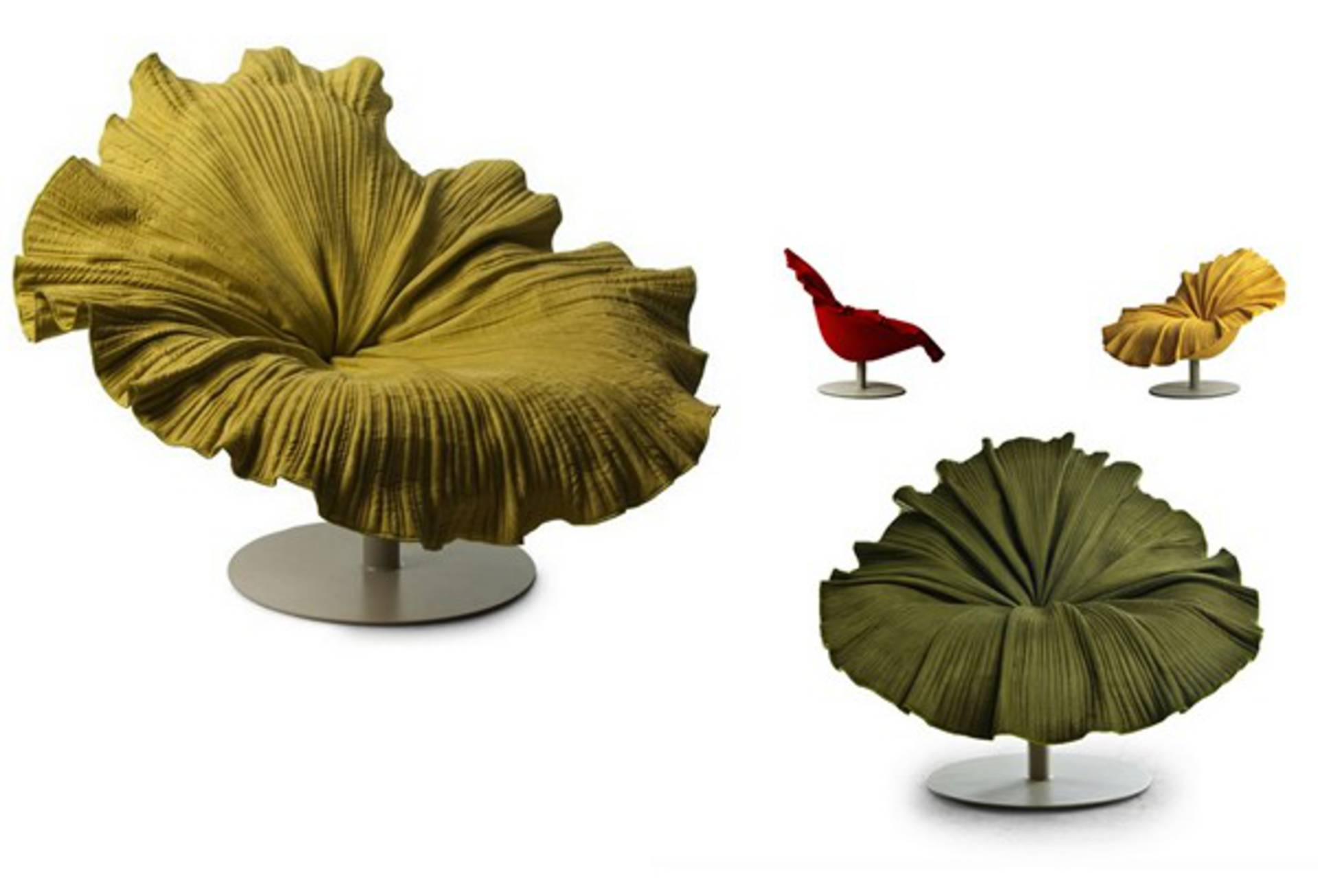 ... Hibiscus Flower Bloom Chair By Kenneth Cobonpue
