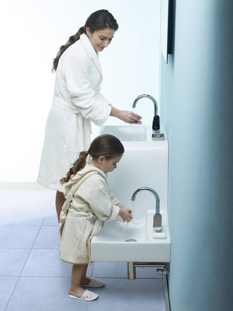 Two-level Double Sink by VitrA