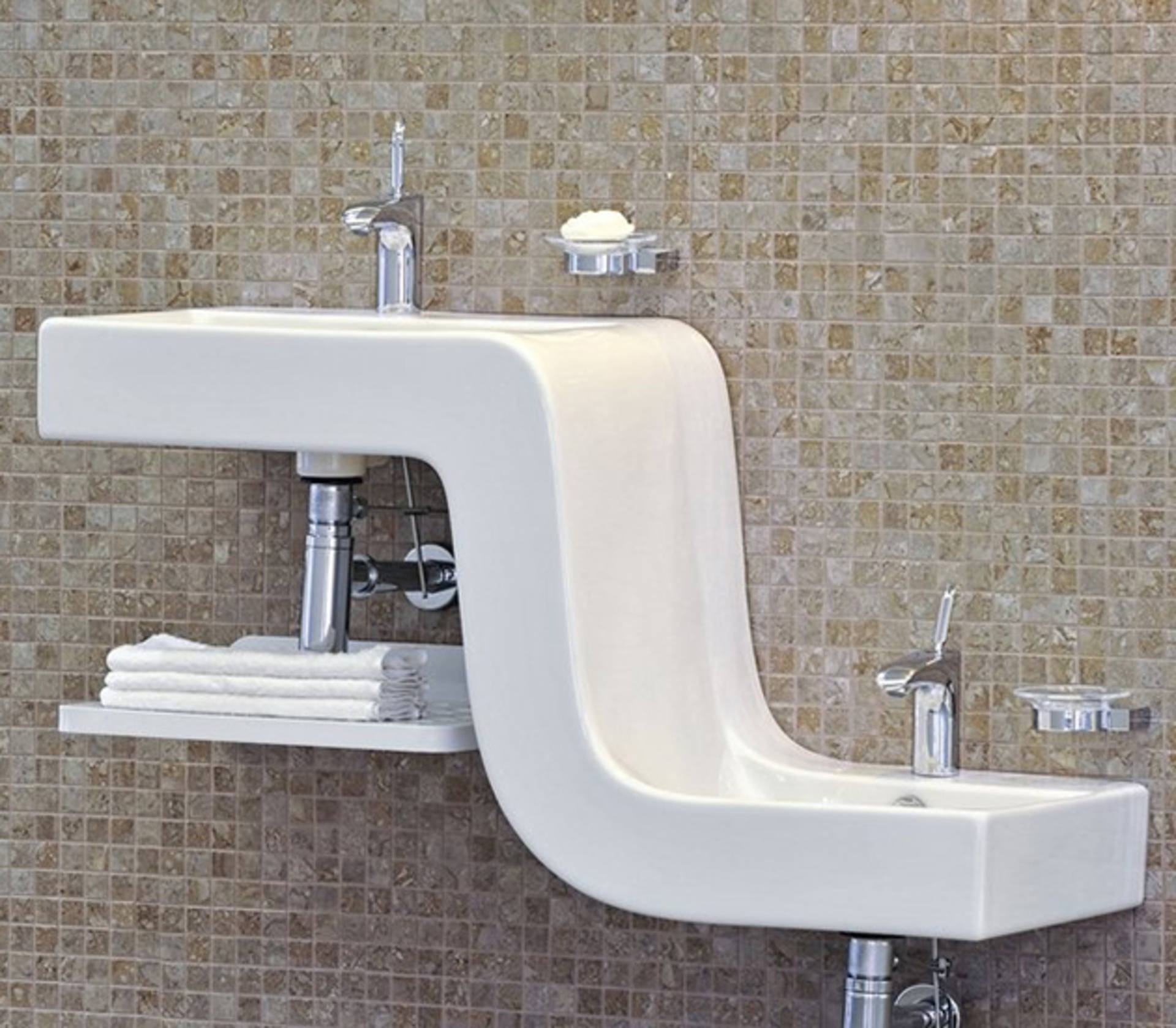 Two Level Double Sink By VitrA ...
