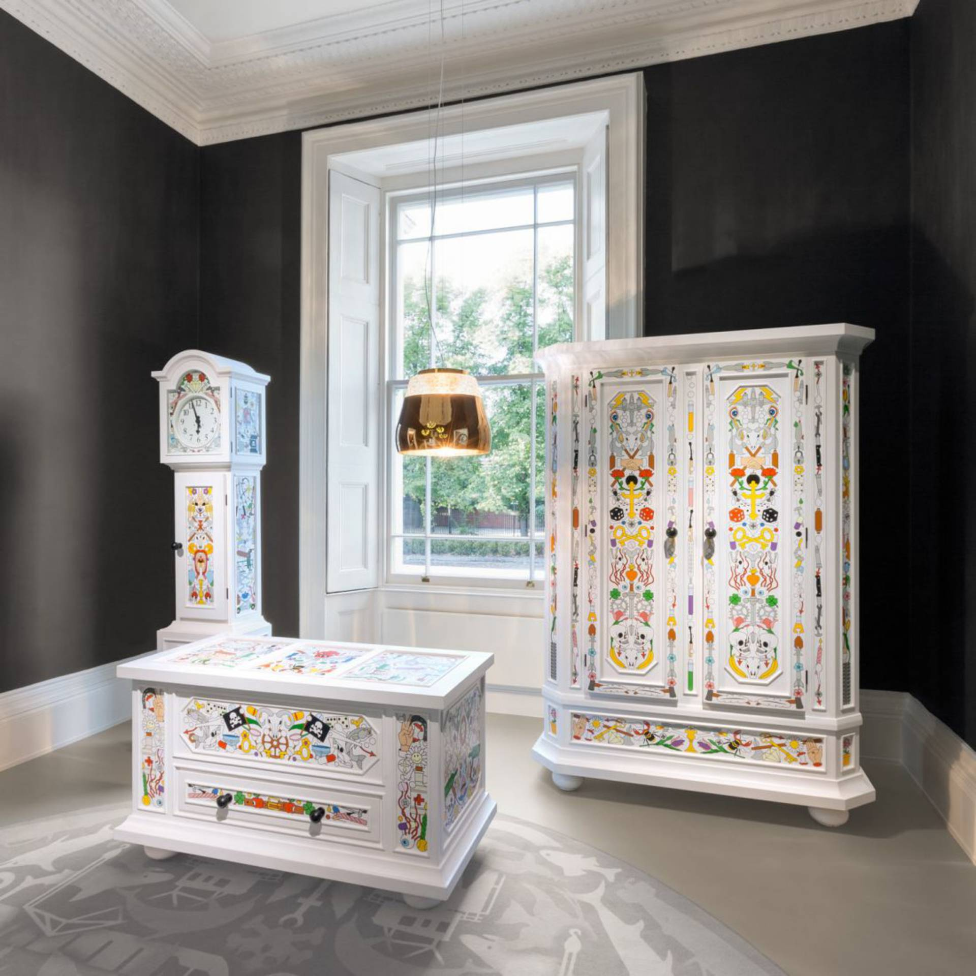Unique Painted Furniture By Moooi