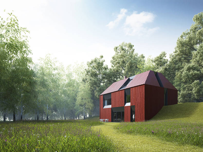 Small Scandinavia: the Prefabricated House by Claesson Koivisto Rune Architects
