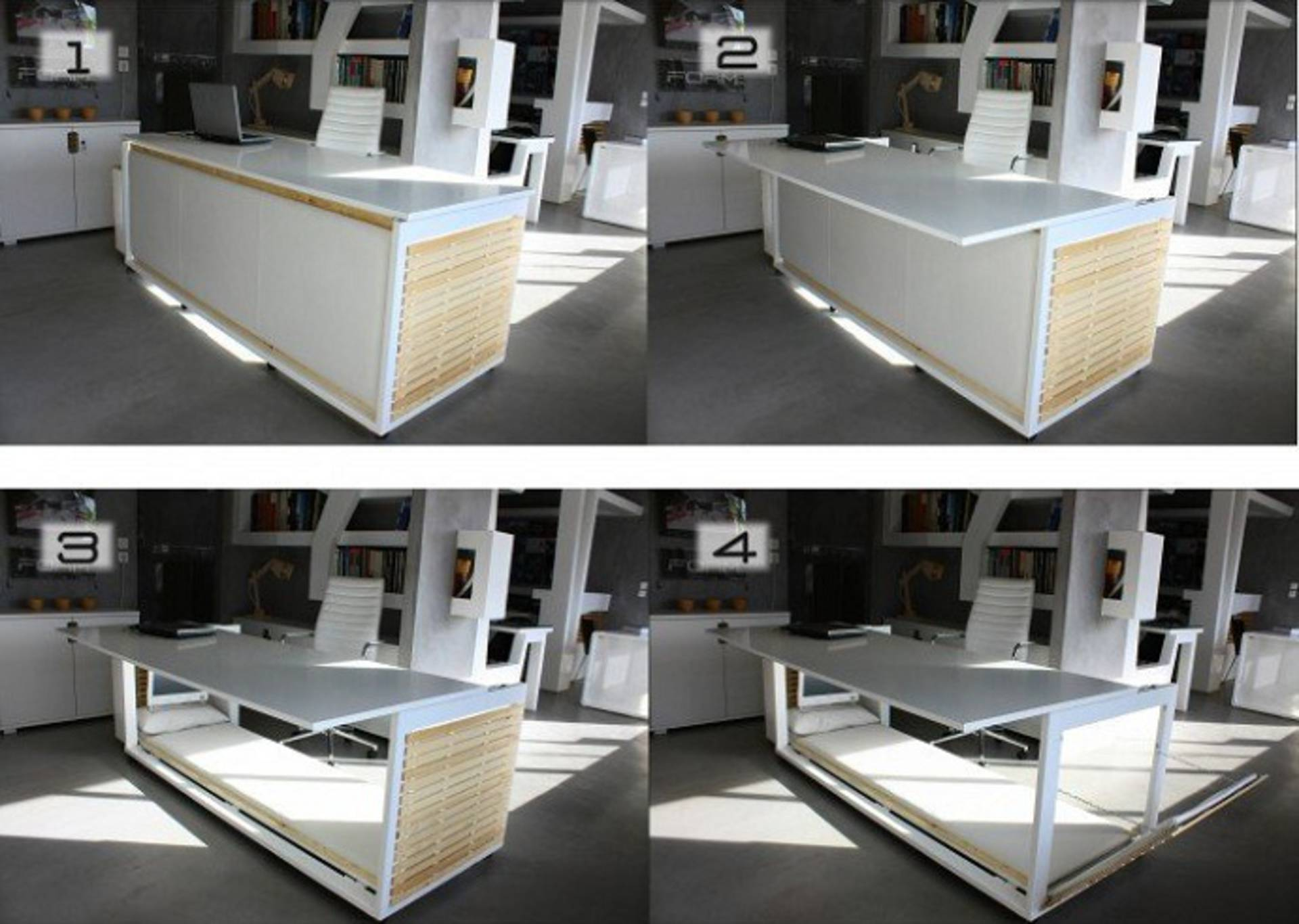 Desk Bed for Office by Studio NL Home Reviews