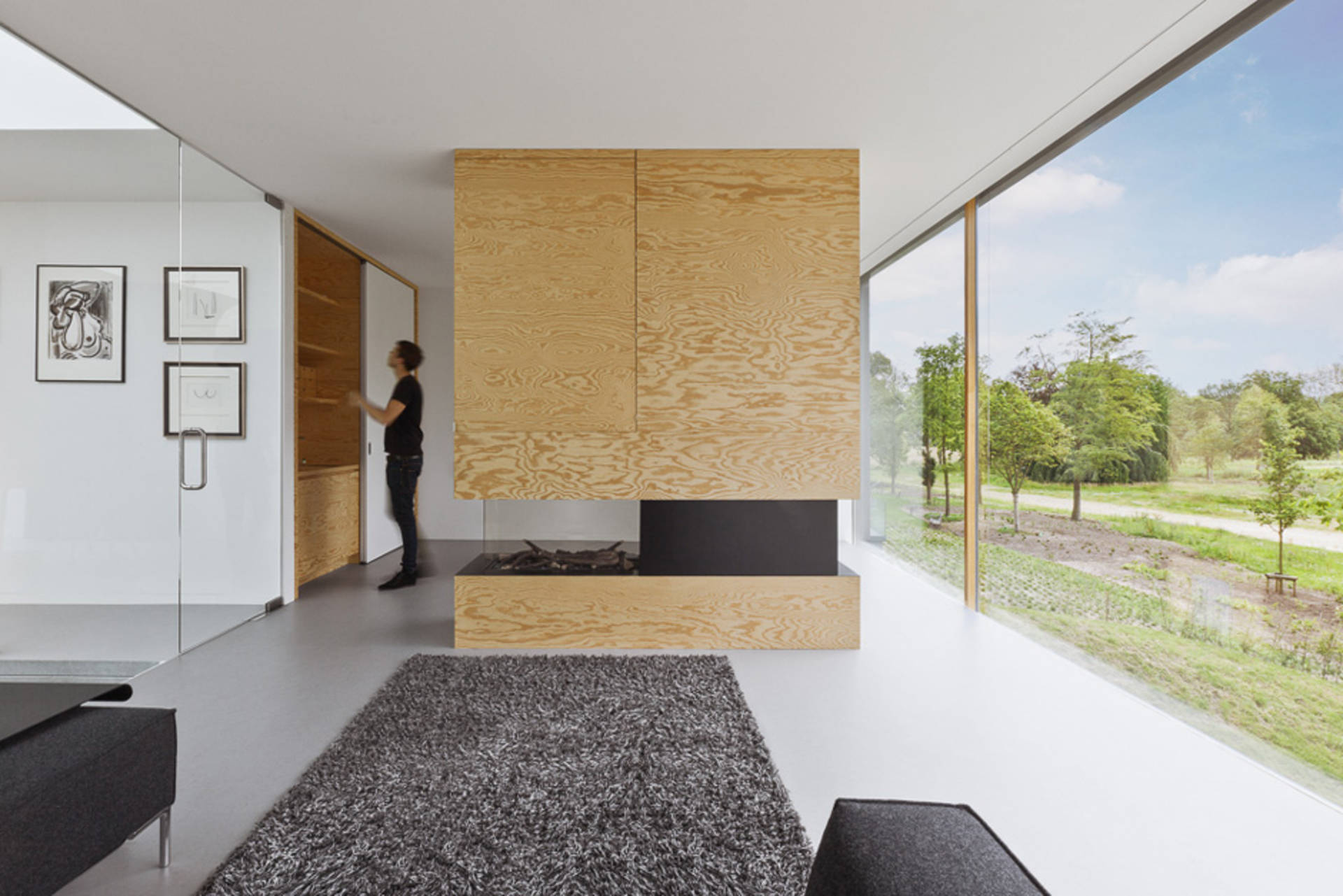The design of the house in kennemerdeynen dutch national park i29 interior architects