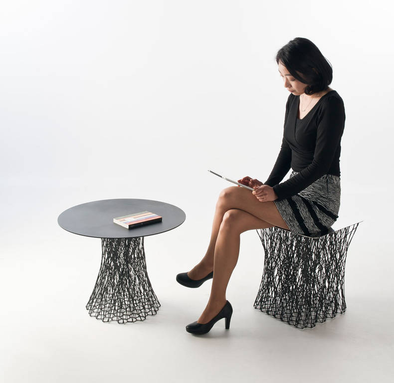Furniture Series of Carbon Fiber by IL HOON ROH